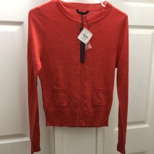 Red Cardigan Boutique New w/ Tags